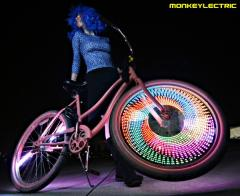 Светодиоды на колесо велосипеда Monkey Light M 232