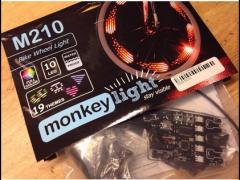 Светодиоды на колесо велосипеда Monkey Light M 210