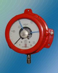 Manometers are technical, electrocontact,
