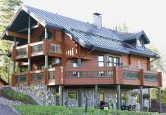 Деревянные дома из клееного финского бруса,Проэкты