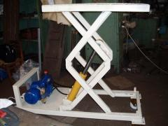 The device for removal of the subcarriage