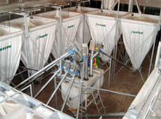 Equipment for formula-feed plants