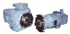 Pumps are radial and piston