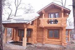 Дома из дикого бруса, деревянные дома под заказ