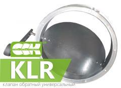 Клапан обратный универсальный KLR