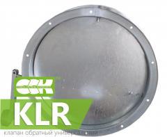 Универсальный клапан обратный KLR