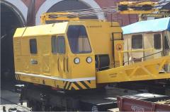 Railroad crane, KZhDE-25