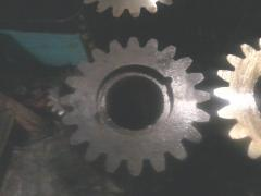Gear wheel of the traction motor 2TE10L30.58.123
