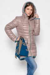 Зимняя куртка X-Woyz! LS-8505 (Капучино-морская