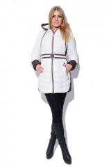 Зимняя куртка X-Woyz! LS-8504 (Молоко-шоколад)