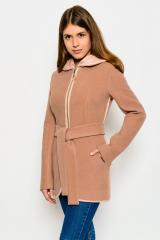 Пальто X-Woyz! PL-8534 (Пудра)