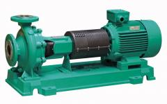 Recirculation pumps for the sewerage