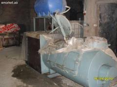 The foam-concrete equipment, the PBU-0,72