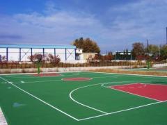 Покрытия для открытых спортивных площадок