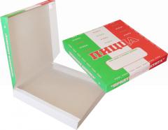 Готовые коробки для пиццы, нанесение печати