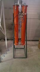 Silica gel as absorbent dehumidifier