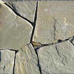 Камень плоский природный (песчаник), толщ.2,0 -