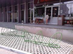 Bicycle parking, velostoyanki any type