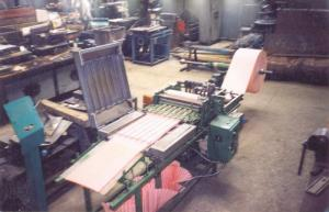 Equipment for production of automobile filters
