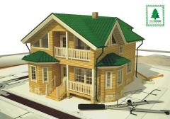Каркасные «Эко» дома, строительство.  Возможен