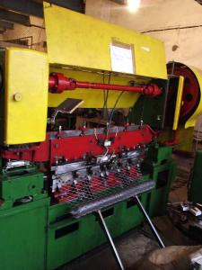 Machines for expanded metal mesh manufacture