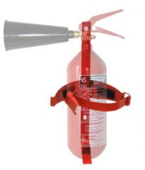 Arm transport (wall) to the OU-2 fire extinguisher