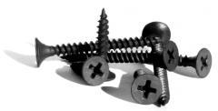 Self-tapping screws for gypsum cardboard