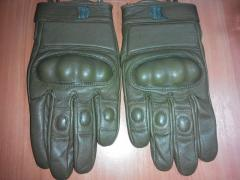 Gloves tactical khaki with stones