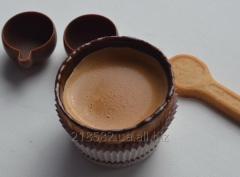 Вафельна склянка із шоколадом для кава еспрессо