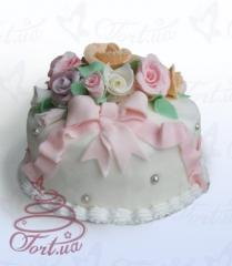 Cake for the holiday Mademoiselle