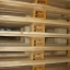 Pallets, pallets cargo wooden restored