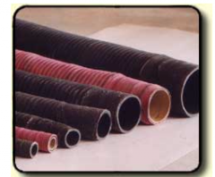 Pipes, hoses and sleeves from the vulcanized