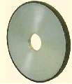 Grinding diamond wheel of a direct profile 1A1