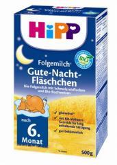 Сухая БИО-молочная смесь HiPP «Сытное молочко со