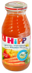 Apple and carrot HiPP juice, Juice fruit and
