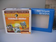 Corrugated packaging: gofrokorobk, gofroyashchik,