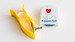 Standard KARDIOLAB electrocardiographic complex