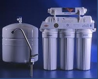Filters of water purification, system of the