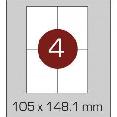 Label self-adhesive 105х148