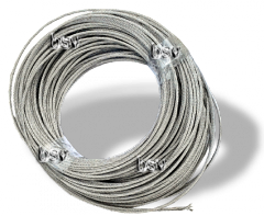 Cable corrosion-proof 7х7 3 mm of DIN 3055-72