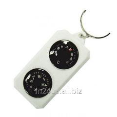 Компас-брелок сувенирный с термометром TR0003