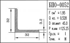 Profile aluminum BPO-0052
