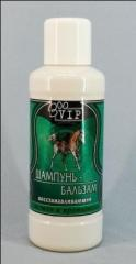 Shampoo for horses of ZOOVIP No. 2 (with tar and