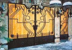 Кованые изделия ворота