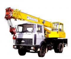 Автокраны КС-3575А, КС-3577 (услуги)