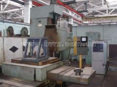 The machine horizontally boring with UChPU