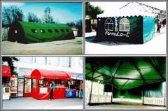 Торговые и выставочные павильоны