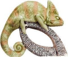 Статуэтка керамическая Хамелеон