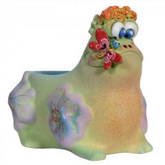 Flowerpot of Frog