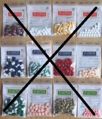 Таблетки Тайские мешки для похудения Бриллиант для похудения 15 мг